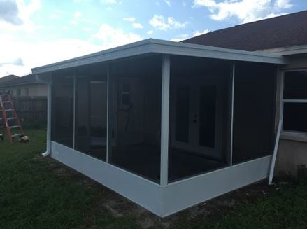 Springer Peterson Roofing and Sheet Metal - winter haven screen room installation polk county